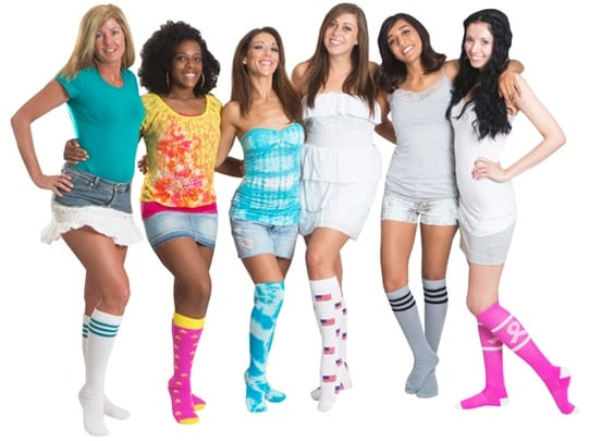 Chrissy's Knee High Socks Are Affordable and Fashionable