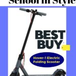 Ride Back to School in Style with Hover-1 Electric Folding Scooter at Best Buy