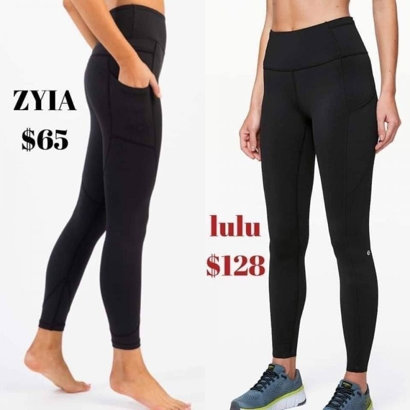 ZYIA Active Activewear for Women   promo flyer